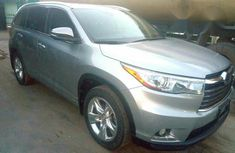 Toyota Highlander 2015 Gray for sale
