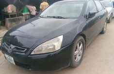 Neatly Used Honda Accord 2004 Black for sale