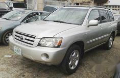 Toyota Highlander 2005 White for sale