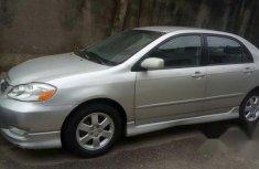 Clean Toyota Corolla Sport 2004 Silver