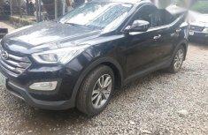 Sharp Hyundai Santa Fe 2013 Black for sale