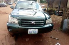 Neatly Used Toyota Highlander 2003 Green for sale