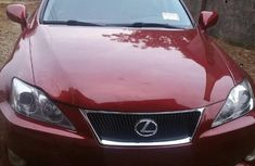 Lexus IS250 2007 Red for sale