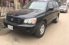 Used Toyota Highlander 2002 Black for sale