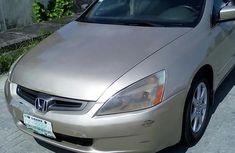 Clean Honda Accord 2003 Gold For Sale