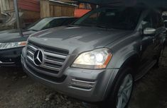 Mercedes Benz GL550 2010 Gray for sale