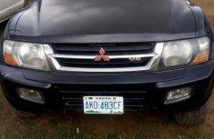 Mitsubishi Montero 2001 Black for sale