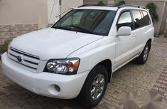 Toyota Highlander 2007 White for sale