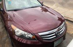 Clean Registered Honda Accord 2011 Red