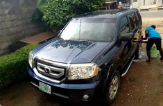 Honda Pilot 2010 Blue for sale