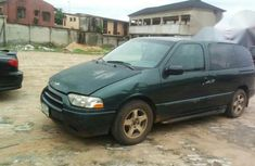 Nissan Quest 2002 Green for sale