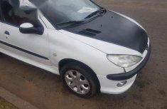 Peugeot 206 2002 White for sale