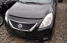 Clean Nissan Versa 2013 Black for sale
