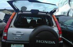 Tokunbo Honda CR-V 2004 Silver for sale