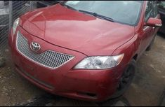 Clean Toyota Camry 2008 Red for sale