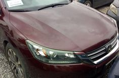 Clean Honda Accord 2015 Red for sale