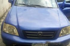 Clean Honda CR-V 1999 Blue for sale