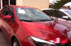 Toyota Corolla LE 2015 Red for sale