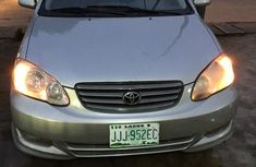 Clean Used Toyota Corolla Sport 2003 Silver