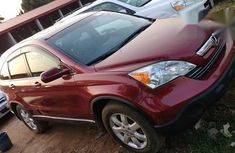 Clean Honda CRV 2007 Red for sale