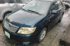 A Toyota Corolla 2007 Blue for sale