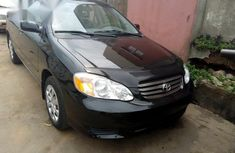 Toyota Corolla 2003 Black for sale