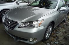 Lexus Es350 2010 Silver for sale