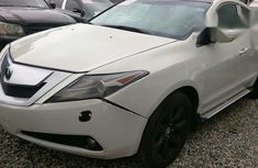 Clean Acura ZDX 2010 White for sale
