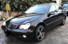 Mercedes Benz C240 2003 Black for sale