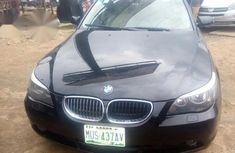 Black Ans Sharp BMW 530i 2005 Black for sale