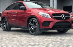 Mercedes Benz GLE450 2016 Red for sale