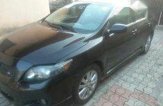 Nigerian Used Toyota Corolla 2010 Black
