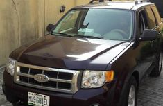 Ford Escape 2010 Brown For Sale.