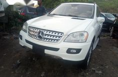 Mercedes Benz ML 350 2009 White for sale