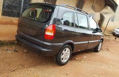 Clean Opel Zafira 2003 Black For Sale