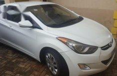 Hyundai Elantra 2012 White for sale