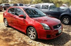 Nissan Sentra 2012 Red for sale