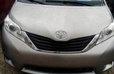 Toyota Sienna 2010 Petrol Automatic Grey/Silver for sale