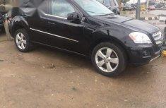 Mercedes-benz ML 350 2011 Black for sale