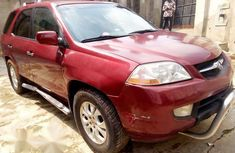 Clean Used Acura MDX 2004 Red for sale