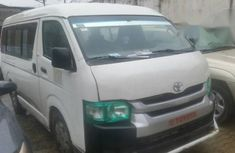 Registered Toyota Hiace 2009 White for sale