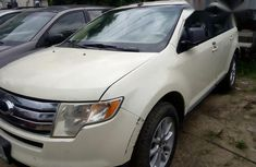 Neatly Used Ford Edge 2008 White for sale
