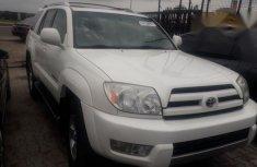 Toyota 4runner 2004 White for sale