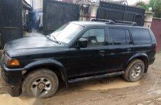 Mitsubishi Montero 2000 Black for sale