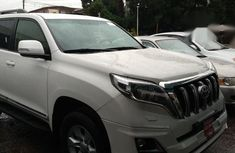 Tokunbo Toyota Land Cruiser Prado 2017 Model White