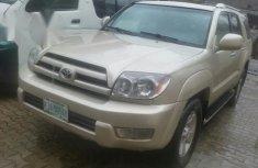 Toyota 4runner 2004 Beige For Sale
