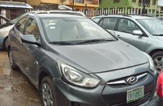 Hyundai Accent 2013 Gray for sale