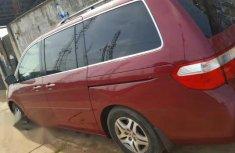 Tokunbo Honda Odyssey 2007 Red for sale