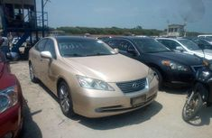 Lexus ES350 2008 Gold for sale