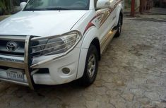 Neat Toyota Hilux 2011 White for sale